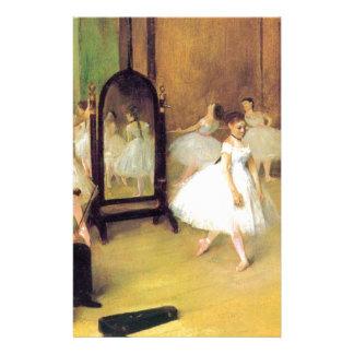 Edgar Degas - Dance Class Stationery