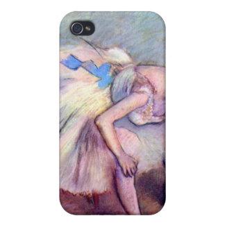 Edgar Degas - Dancer bent over iPhone 4 Case