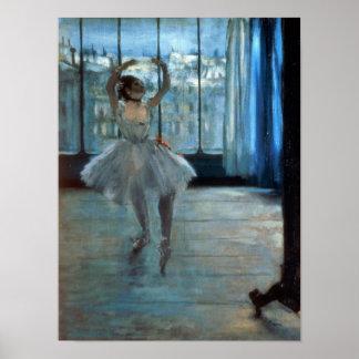 Edgar Degas | Dancer in Front of a Window Poster