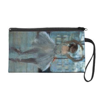 Edgar Degas | Dancer in Front of a Window Wristlet Clutches