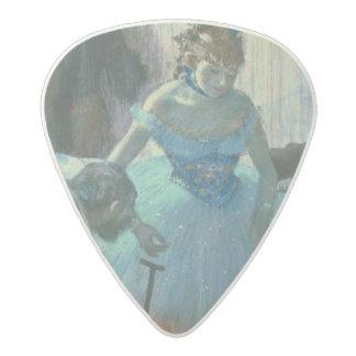 Edgar Degas   Dancer in her dressing room Acetal Guitar Pick