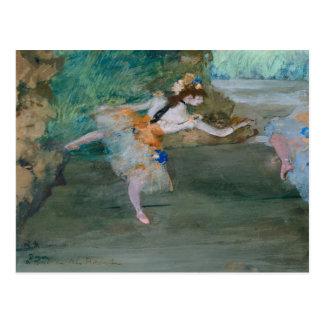 Edgar Degas - Dancer Onstage Postcard