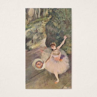 Edgar Degas | Dancer Takes a Bow Business Card