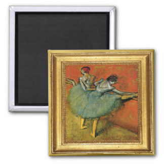Edgar Degas Dancers Artwork Magnet