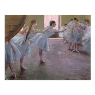Edgar Degas | Dancers at Rehearsal, 1875-1877 Postcard