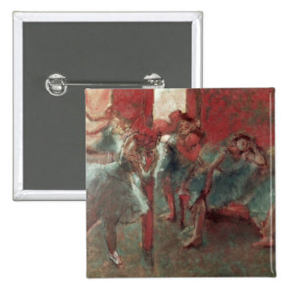 Edgar Degas   Dancers at Rehearsal, 1895-98 15 Cm Square Badge