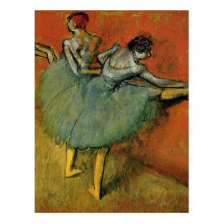Edgar Degas | Dancers at the Bar | New Address Postcard