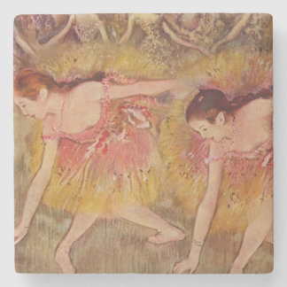 Edgar Degas Dancers Bending Down Coasters