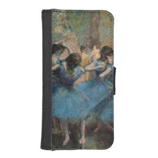 Edgar Degas | Dancers in blue, 1890