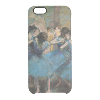 Edgar Degas | Dancers in blue, 1890 Clear iPhone 6/6S Case