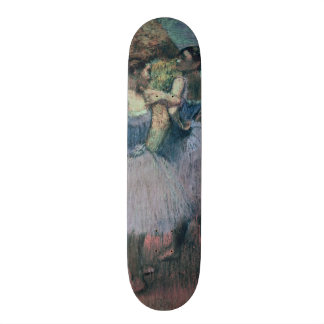 Edgar Degas   Dancers in Violet 20.6 Cm Skateboard Deck