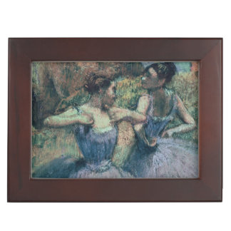 Edgar Degas | Dancers in Violet Keepsake Box