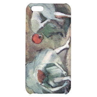 Edgar Degas - Dancers lace their shoes iPhone 5C Cover