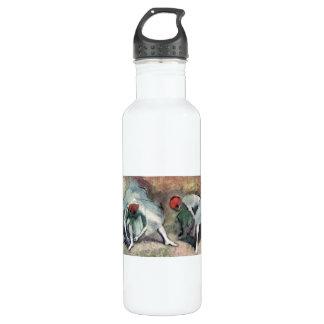Edgar Degas - Dancers lace their shoes 710 Ml Water Bottle
