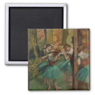 Edgar Degas Dancers Pink and Green Magnet