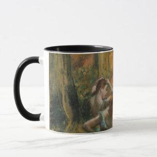 Edgar Degas Dancers Pink and Green Mug