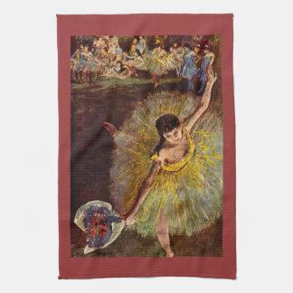 Edgar Degas - End of the arabesque Towel
