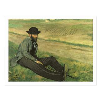 Edgar Degas | Eugene Manet Postcard