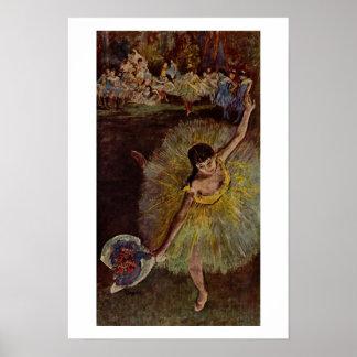 Edgar Degas | Fin d'Arabesque Poster