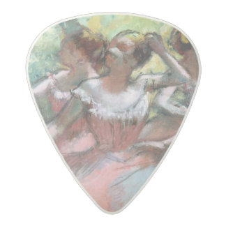 Edgar Degas   Four ballerinas on the stage Acetal Guitar Pick