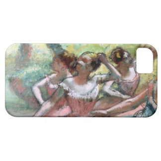 Edgar Degas | Four ballerinas on the stage iPhone 5 Case