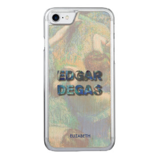Edgar Degas French Impressionist Blue Dancers Carved iPhone 8/7 Case