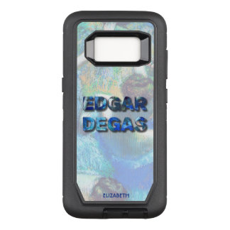 Edgar Degas French Impressionist Blue Dancers OtterBox Defender Samsung Galaxy S8 Case