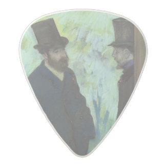 Edgar Degas   Friends at the Theatre Acetal Guitar Pick