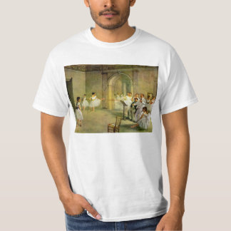 Edgar Degas - Hall of the Opera Ballet in the Rue T-shirts