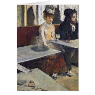 Edgar Degas | In a Cafe, or The Absinthe Card