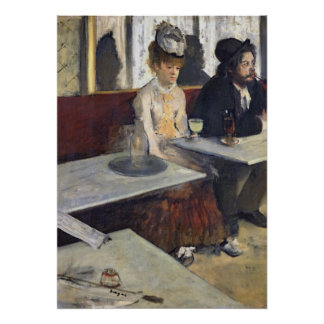 Edgar Degas | In a Cafe, or The Absinthe Poster