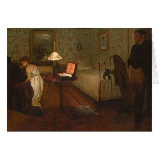 Edgar Degas - Interior Card