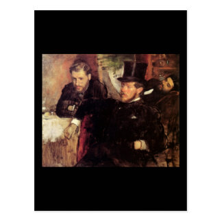 Edgar Degas Jeantaud Linet and Laine Postcard