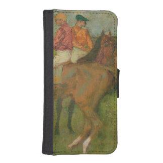 Edgar Degas | Jockeys, 1886-90