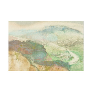 Edgar Degas - Landscape Canvas Print