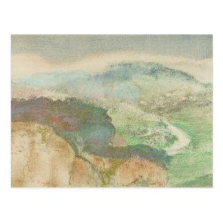 Edgar Degas - Landscape Postcard