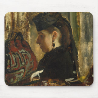 Edgar Degas - Mademoiselle Marie Dihau (1843–1935) Mouse Pad
