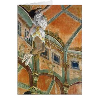 Edgar Degas   Miss La la at the Cirque Fernando Card