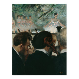 Edgar Degas | Orchestra Musicians | New Address Postcard