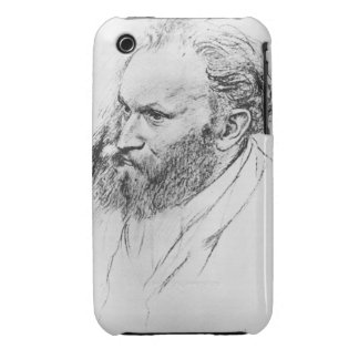 Edgar Degas   Portrait of Edouard Manet  iPhone 3 Case