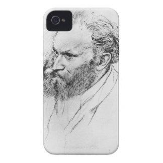 Edgar Degas   Portrait of Edouard Manet  iPhone 4 Case-Mate Case