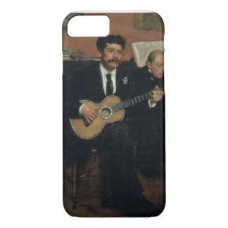 Edgar Degas | Portrait of Lorenzo Pagans iPhone 7 Case