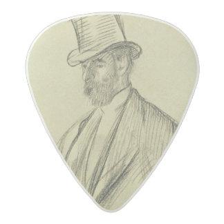 Edgar Degas   Portrait of Ludovic Halevy Acetal Guitar Pick
