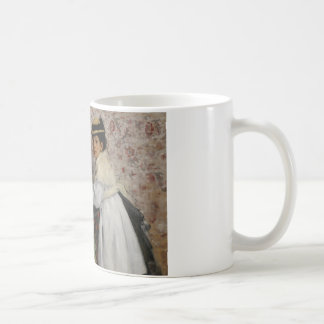 Edgar Degas - Portrait of Mlle. Hortense Valpincon Coffee Mug