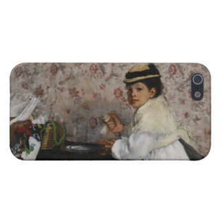 Edgar Degas | Portrait of Mlle Hortense Valpinçon iPhone 5 Cases