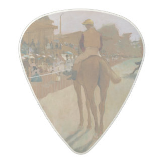 Edgar Degas   Race Horses in front of the Stands Acetal Guitar Pick