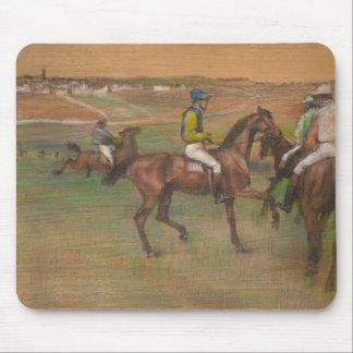 Edgar Degas - Race Horses Mouse Pad