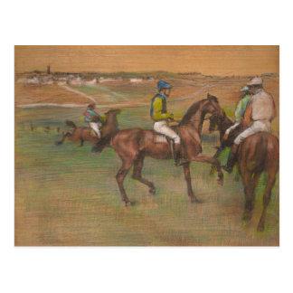 Edgar Degas - Race Horses Postcard