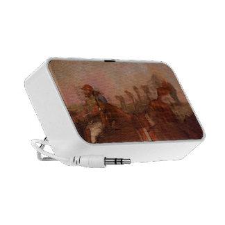 Edgar Degas-Scene from Steeplechase -Fallen Jockey Mini Speakers