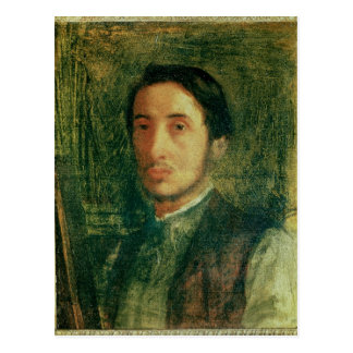 Edgar Degas | Self Portrait as a Young Man Postcard